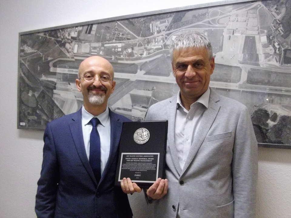 Director of ANA, Claudio Clori (left) and deputy director of ANA, Cos Rausch (right)